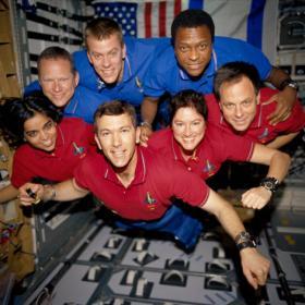 Columbia astronauts