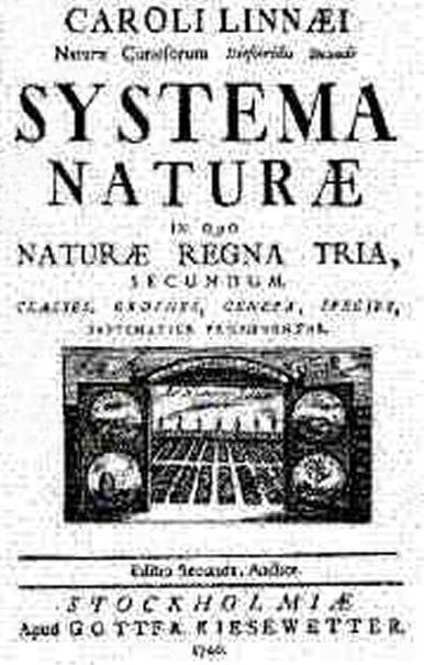Systema Naturae