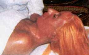 Eva Perón embalsamada