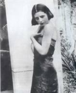 Eva Perón a los 15 años.