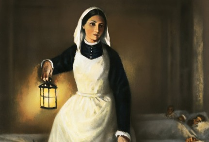 La Dama de la lámpara