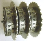 Enigma rotores