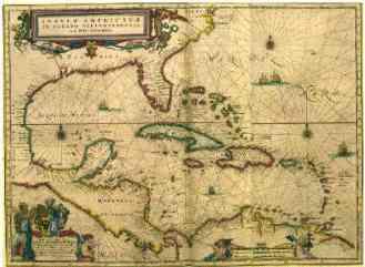 Mapa Caribe