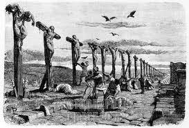 Crucifixión romana masiva