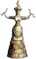 Diosa de la Serpiente