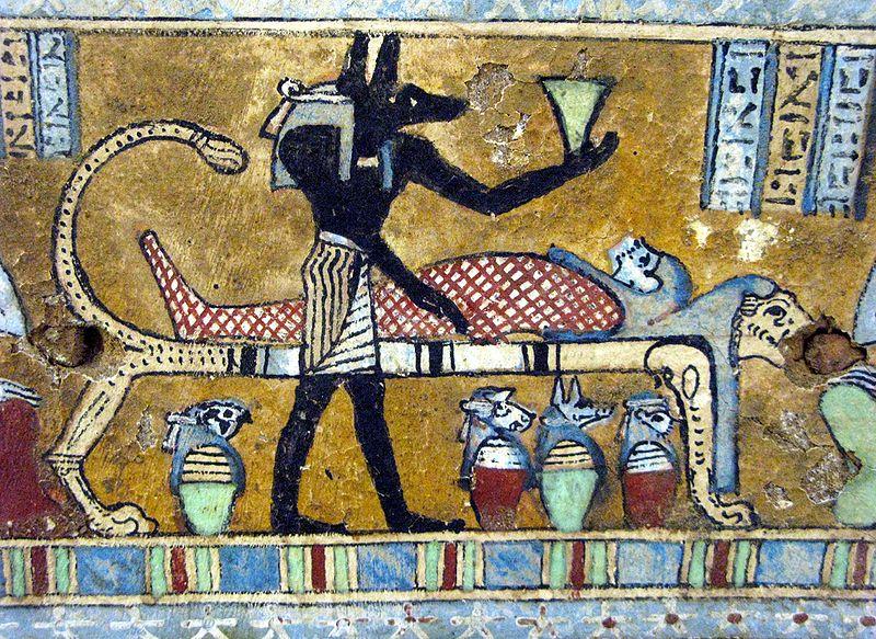 C mo embalsamar a tu rey arqueologia historia antigua y for Mural nuestra carne