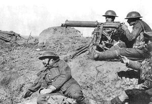Ametralladora Vickers (Haz click para ver mejor).