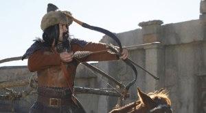 Attila in battle