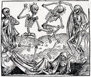 Danza Macabra, de Michael Wolgemut.