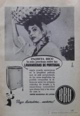 Publicidad de lavadoras