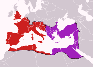 Roma dividida
