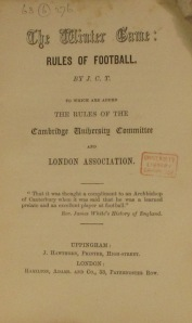 Rules 1863