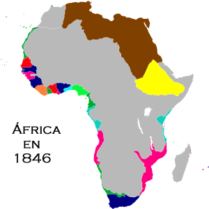 África en 1846