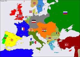 Europa en 1914.