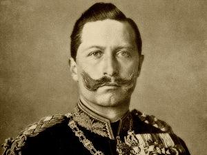 Káiser Wilhelm II de Alemania.