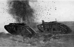 Primeros tanques