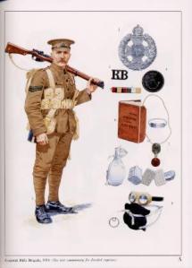 """Tommy"", infantería británica."
