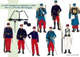 125 regimiento de infantería francés