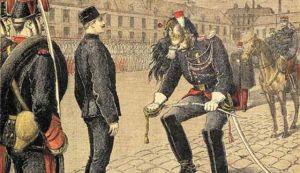 degradación del Capitan Dreyfus