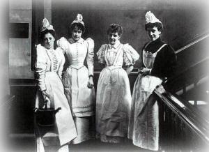 Sirvientas victorianas