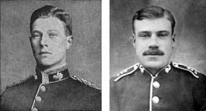 Maurice Dease y Sid Godley, primeros acreedores a la Victoria Cross en la PGM.