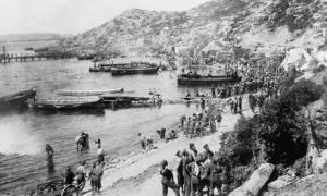 Desembarcos en Gallipoli