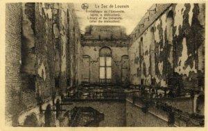 La Biblioteca Universitaria después del fuego