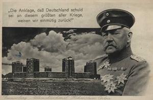 Monumento a la Batalla de Tannenberg, donde Hindenburg fue enterrado, y que fue derribado por los nazis en su retirada en 1944.