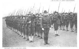 Soldados estadounidenses durante la PGM.