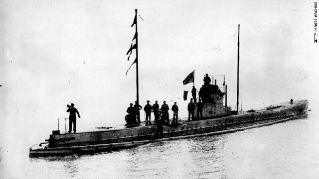 Resultado de imagen de U-boote en la Primera Guerra Mundial Guerra submarina sin restricciones