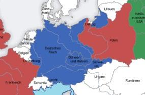 Alemania después de la absorción de Checoslovaquia.