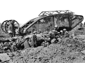 Matk I británico en la Batalla del Somme.