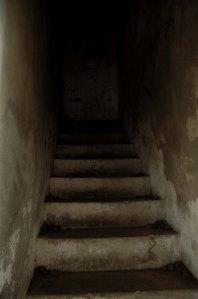 Escalera oscura