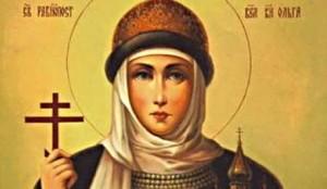 Santa Olga de Kiev.
