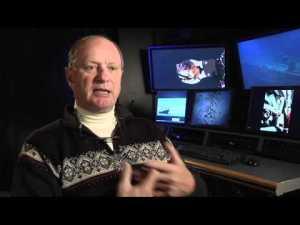 Escena de un documental con la participación de Ballard.