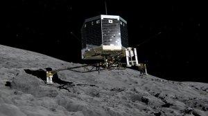 La sonda Philae.