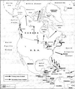 Mapa del Plan Red.