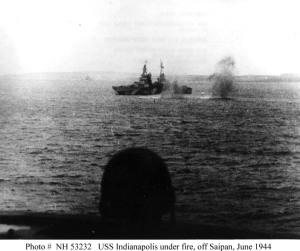 Bajo fuego en Saipán (1944)