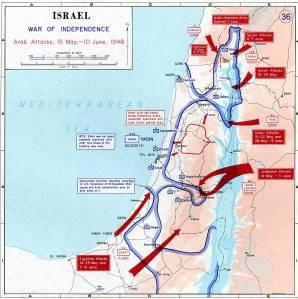 Ataques árabes 1948