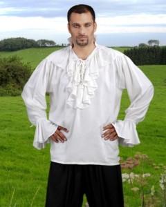 Camisa de lino medieval