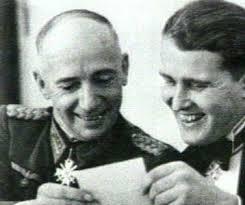 Dornberger y von Braun.