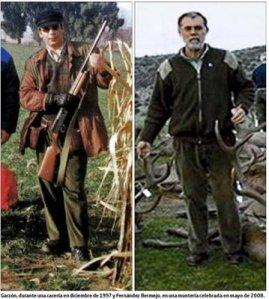 Juez Garzon y ministro Bermejo cazando