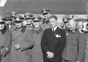 Peenemünde, 1941 Dornberger, Olbricht, Leeb, v. Braun.