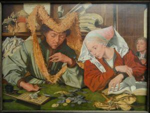 el cobrador de impuestos y su esposa marinus van reymerswale - Historia de los impuestos. Como robar al pueblo