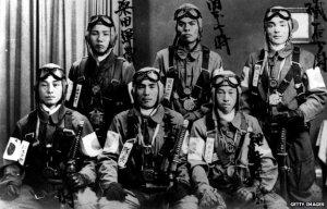 Pilotos Kamikaze