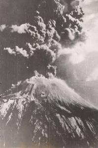 Erupción del Vesubio en 1944