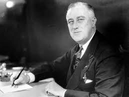 El Presidente Franklin Delano Roosevelt.