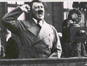 Hitler furibundo, declaración de guerra
