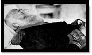 Leopoldo II muerto