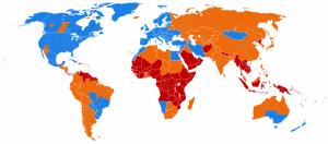 Países que aplican el horario de verano.